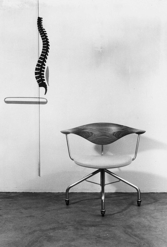 <em>Office Chair</em> (Büro-Stuhl), 1955.